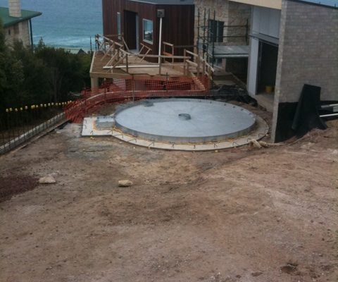 Residential Concrete Turntable