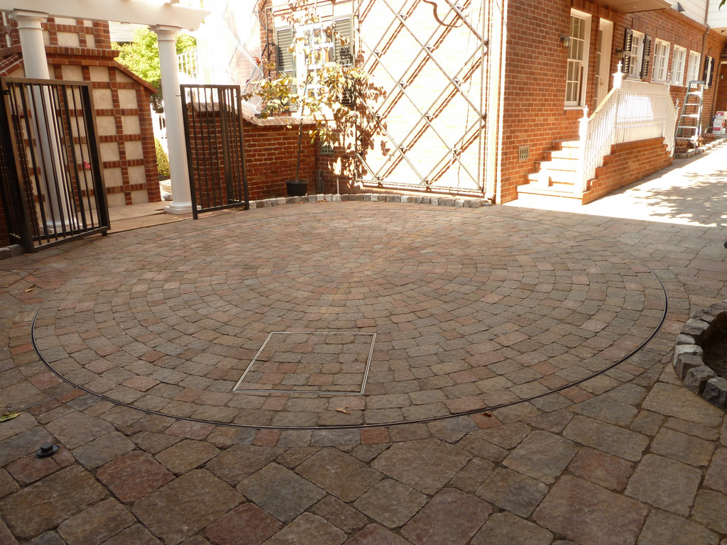 Pavers Turntable