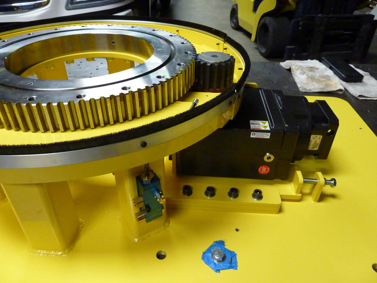 Manufacturing Turntable1
